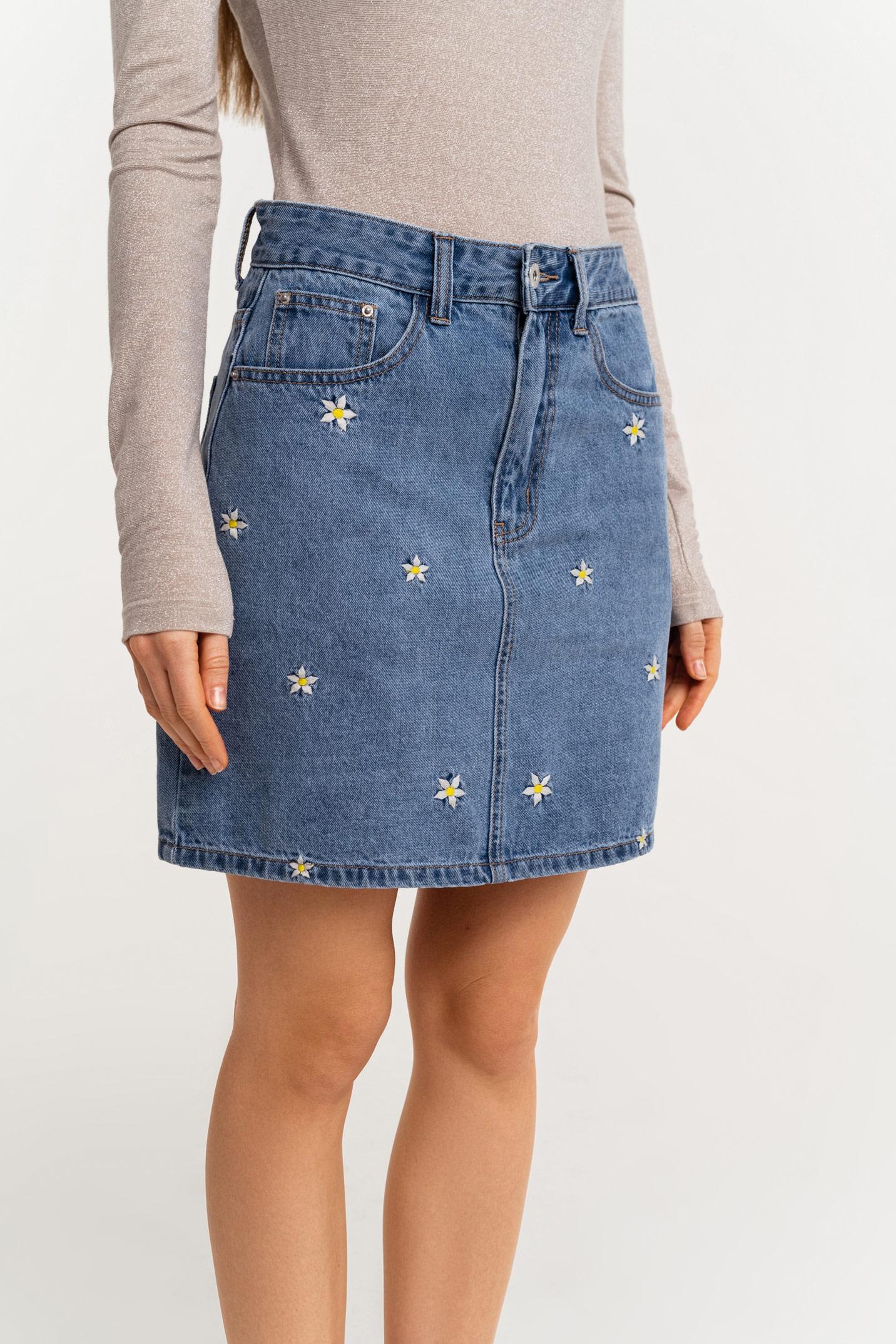 джинсовая юбка купить в воронеже